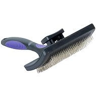 Hairbrush self-cleaning fine L BUSTER - Dog Brush