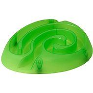 BUSTER Maze Dog Bowl, Light Green 1pc - Dog bowl