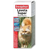 BEAPHAR Hair Nourishing Drops Laveta Super 50ml - Food Supplement for Cats