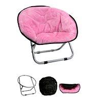 Pelíšek pro psy a kočky Papillon křesílko, Relax, růžové, 50 × 50 × 40cm - Pelíšek pro psy a kočky