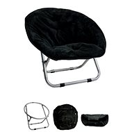Papillon křesílko, Relax, černé, 50 × 50 × 40cm - Pelíšek pro psy a kočky