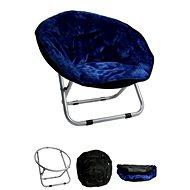Papillon křesílko, Relax, tmavě modré, 50 × 50 × 40cm - Pelíšek pro psy a kočky