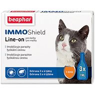BEAPHAR Line-on IMMO Shield Cat - Antiparasitic Pipette