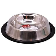 DOG FANTASY Stainless-steel Bowl with Rubber - Dog Bowl