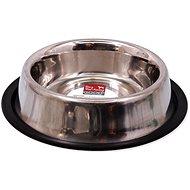 DOG FANTASY Miska nerez s gumou 19 cm 0,47 l - Miska pro psy