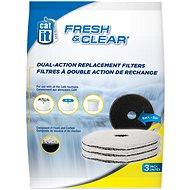 HAGEN Náplň uhlí + molitan pro Fresh & Clean - Filtr pro fontánky