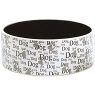 DOG FANTASY Ceramic Bowl with Dog Print, 1,4 l 20 × 7,5cm - Dog Bowl