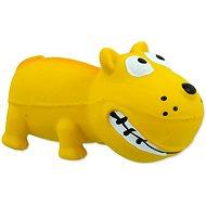 DOG FANTASY hračka latex mini pes žlutá se zvukem 9 cm - Hračka pro psy