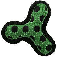 DOG FANTASY hračka hextex vrtule zelená 13 cm - Hračka pro psy