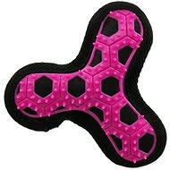 DOG FANTASY hračka hextex vrtule růžová 13 cm - Hračka pro psy