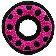 DOG FANTASY hračka hextex kruh růžová 13 cm - Hračka pro psy