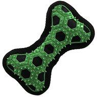 DOG FANTASY hračka hextex kost zelená 14,5 cm - Hračka pro psy