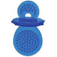 DOG FANTASY hračka dudlík guma modrá 8 cm - Hračka pro psy