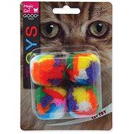 MAGIC CAT hračka míček 3,75 cm 4 ks - Míček pro kočky