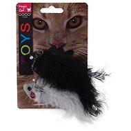 MAGIC CAT hračka se vzorem, chrastící a catnip mix 11 cm 2 ks - Hračka pro kočky