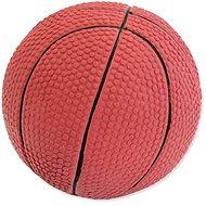 DOG FANTASY hračka latex basketball míč se zvukem 7,5 cm