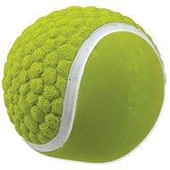 DOG FANTASY hračka latex míč tenisový se zvukem 7,5 cm