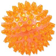 DOG FANTASY hračka míček pískací oranžová 8 cm
