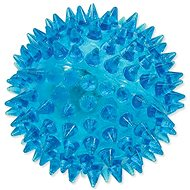 DOG FANTASY hračka míček LED modrá 6 cm