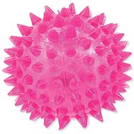 DOG FANTASY hračka míček LED růžová 6 cm