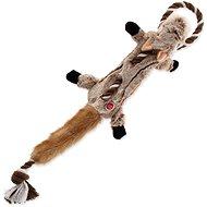 DOG FANTASY hračka skinneeez s provazem čipmank 57,5 cm - Hračka pro psy