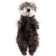 DOG FANTASY hračka skinneeez vlk plyš 34 cm - Hračka pro psy