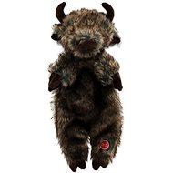DOG FANTASY hračka skinneeez bizon plyš 34 cm - Hračka pro psy