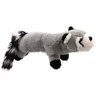 DOG FANTASY hračka plush pískací mýval černé tlapky 45 cm