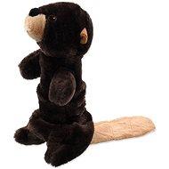 Hračka pro psy DOG FANTASY hračka plush pískací bobr 45 cm