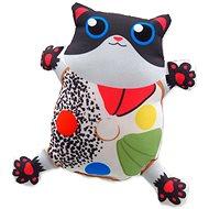 LET´S PLAY hračka kočka s catnip 3, 14 cm - Hračka pro kočky