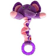 LET´S PLAY hračka Junior slon fialová 30 cm