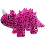 LET´S PLAY hračka dinosaurus fialová 25 cm - Hračka pro psy