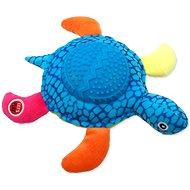 LET´S PLAY hračka želva modrá 22 cm - Hračka pro psy