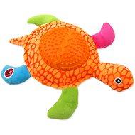 Hračka pro psy LET´S PLAY hračka želva oranžová 22 cm