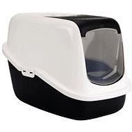 SAVIC toaleta Nestor 56×39×38,5cm černá - Kočičí toaleta