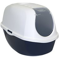 MAGIC CAT Toilet with Cover 39 × 53 × 41cm Blue - Cat Litter Box