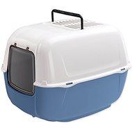 FERPLAST toaleta Prima 39,5×52,5×38cm modrá - Kočičí toaleta