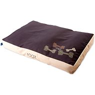 ROGZ mattress Flat Podz mocha bone 83 × 56 × 10 cm - Dog Bed