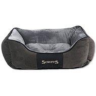 SCRUFFS Chester box bed S 50×40cm šedý - Pelíšek pro psy