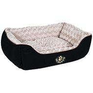 SCRUFFS Wilton box bed M 60×50cm černý - Pelíšek pro psy a kočky