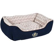 SCRUFFS Wilton box bed M 60×50cm modrý - Pelíšek pro psy