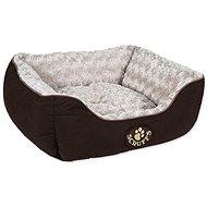 SCRUFFS Wilton box bed S 50×40cm hnědý - Pelíšek pro psy