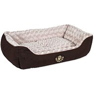 SCRUFFS Wilton box bed L 75×60cm hnědý