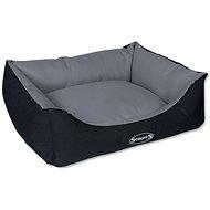 SCRUFFS expedition box bed M 60×50cm šedivý - Pelíšek pro psy