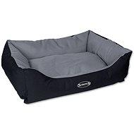 SCRUFFS expedition box bed L 75×60cm šedivý - Pelíšek pro psy