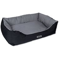SCRUFFS expedition box bed XL 90×70cm šedivý