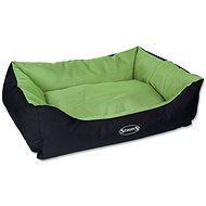 SCRUFFS expedition box bed L 75×60cm limetkový - Pelíšek pro psy