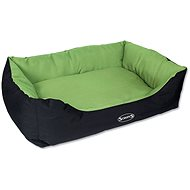 SCRUFFS expedition box bed XL 90×70cm limetkový
