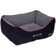 SCRUFFS thermal box bed S 50×40cm černý - Pelíšek pro psy