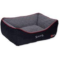 SCRUFFS thermal box bed M 60×50cm černý - Pelíšek pro psy